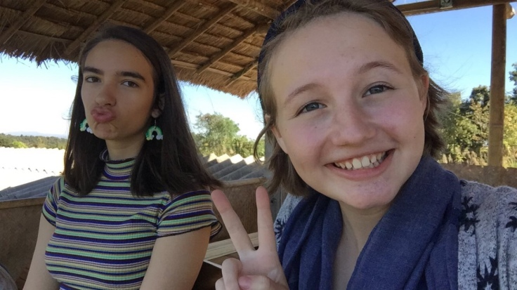 Sofia and I